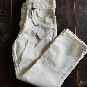 👖BNWT OFF WHITE STRAIGHT LEG HIGHWAISTED JEANS
